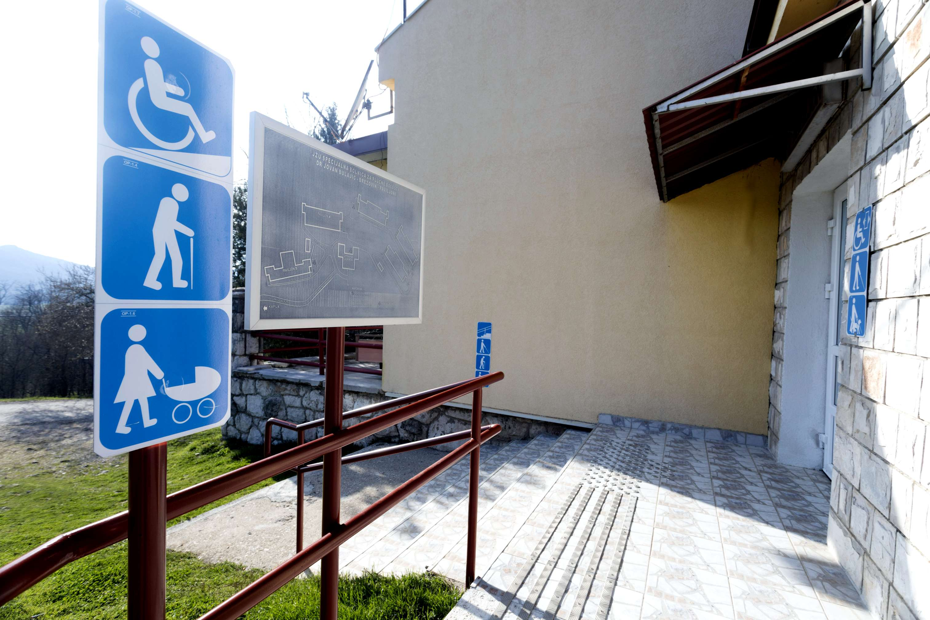 Accessibility signs spoljne